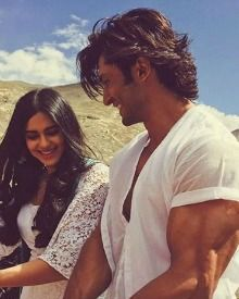 On The Sets Of Commando 2 In Ladakh