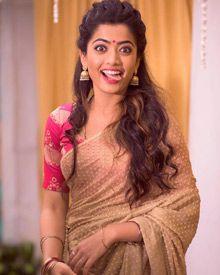 Rashmika Mandanna On The Sets Of Chamak