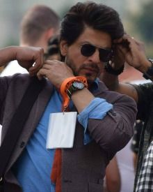 Shahrukh Khan On The Sets Of Imtiaz Ali's Next, The Ring