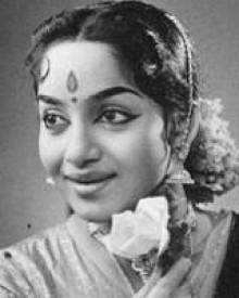 E. V. Saroja (old Tamil Actress)