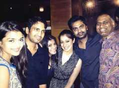 Lakshmi Rai Parties With VPA Team