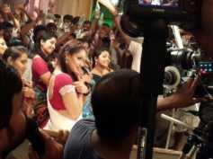 Pics: Neetu Chandra Dons Half Saree For Special Number