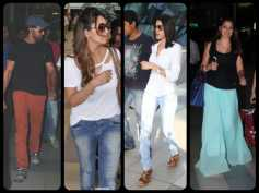 Pics: Hrithik, Sherlyn Chopra & Bollywood Celebs Spotted At Airport