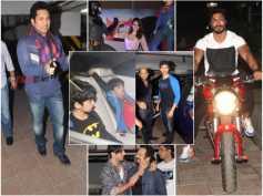 Batman Vs Superman: Hrithik Roshan With Kids, Sachin Tendulkar And Stars Spotted At Screening