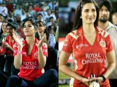 Red Hot Pictures Of Katrina Kaif Sporting RCB T-shirts!