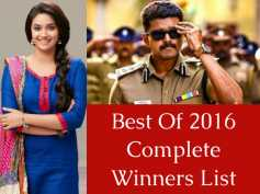 Best Of 2016 Poll Results: Vijay, Theri, Keerthy Suresh Win!