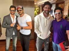 Fan Moment! Hrithik Roshan Meets Cricketing Legend Sachin Tendulkar & Sreesanth