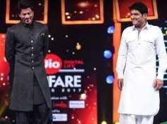 ROFL! Shahrukh Khan Trolls Aamir Khan, Aditya Chopra, Alia Bhatt & Kapil Sharma At Filmfare Awards!