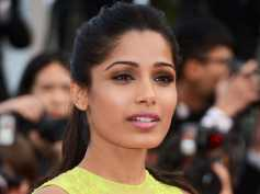 Women's Protest March Was Against Injustice And Not Trump Says Freida Pinto