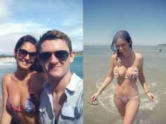 Hot Bikini Pics! Bruna Abdullah Holidays In Brazil