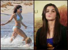OUCH! Alia Bhatt Gives A WEIRD Reaction When Asked About Priyanka Chopra's Bikini Pictures!