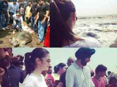 HEART-WARMING! Alia Bhatt Releases A 30 Year OldEndangered Turtle Back Into The Sea [SEE PICS]