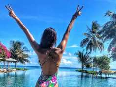 Disha Patani Oozes Hotness While Flaunting Her Back In A Bikini! View Pictures