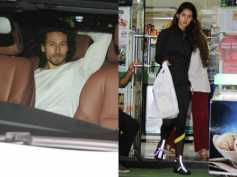 Disha Patani Goes Shopping & Tiger Shroff Waits Patiently Like A Good Boyfriend! View Pictures