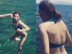Radhika Apte Chills In A Green Bikini In Tuscany, Italy! View Pictures