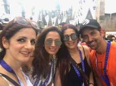 Hrithik Roshan & Ex-wife Sussanne Khan Holiday In Orlando With Their Kids! View Pics