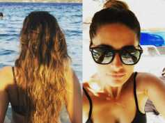 Nargis Fakhri Holidays In Greece! View Pictures