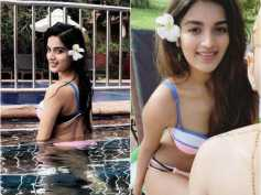 Bikini Diaries! Nidhii Agerwal Holidays In Goa & Chills By The Pool! Pictures