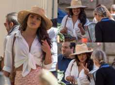 Priyanka Chopra Looks Like A Dream While Shooting For Quantico 3 In Italy! View Pictures