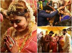 IN PICS! Namitha Ties The Knot With Veerendra Chowdhary!
