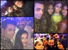 PICS: Aishwarya Rai AVOIDS Salman; Katrina Acts COOL With Alia But SNUBS Ranbir At Sonam's Reception