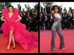 Cannes 2018: Deepika Padukone Charms In Frilly Pink, Kangana RanautIs GlamIn Embroidered Catsuit!
