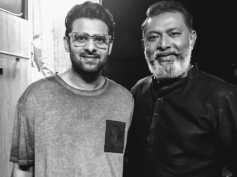 Lal Shares A Still Taken With Prabhas, From The Sets Of Saaho!