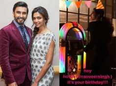 Deepika Padukone Breaks Into A Cute Dance For Her Boyfriend Ranveer Singh On His Birthday!