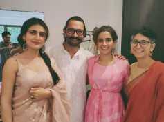 Eid: Aamir Khan & Kiran Rao Celebrate The Festival With Dangal Girls Fatima Shaikh & Sanya Malhotra