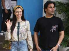 Arbaaz Khan & Alleged Girlfriend Giorgia Andriani Catch Up For The Weekend! View Pictures