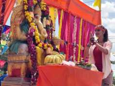 Ganesha Chaturthi 2018: Raai Laxmi And Others Celebrate The Festival; View Pics