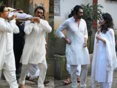 Arjun Rampal's Mother Gwen Rampal Passes Away; B-Town Celebs Attend Last Rites