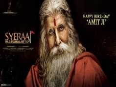 Happy Birthday Amitabh Bachchan: Big B's Look In Sye Raa Narasimha Reddy Is Awesome
