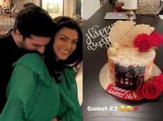 Sushmita Sen's Birthday Celebration Was All Things Love; Courtesy BF Rohman Shawl & Family!