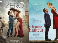 Shahrukh Khan's Zero Poster Copied From The French Movie Un Homme À La Hauteur?