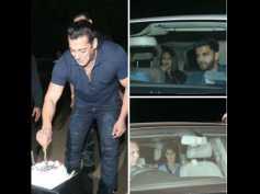 Salman Khans Midnight Birthday Bash: Salman Cuts Cake In Presence Of Media; Celebs Attend His Party