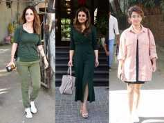 Raveena Tandon Sussanne Khan Sanya Malhotra Other Celebs Spotted Today