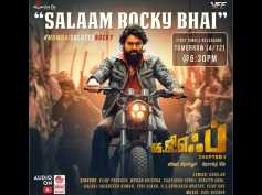 KGF First Single Salaam Rocky Bhai Is Out And It Does Full Justice To Yash's On-screen Image
