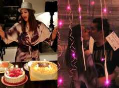 Bipasha Basu Rings In Her B'day With A Passionate Kiss With Karan Singh Grover & Some Yummy Cakes!