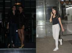 Karishma Kapoor & Amrita Arora All Decked Up, Head To Club; Navya Naveli Spotted In A Casual Avatar