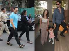 Aamir Khan Treats Himself To A Spa Session; Sunny Leone & Her Family Were Snapped At A Bday Party