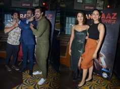 Pics: Saqib Saleem, Rhea Chakraborty, Aahana Kumra Attend Rangbaaz Success Bash