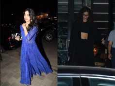 Janhvi Kapoor, Sonam Kapoor Spotted At Club; Alia Bhatts Comfy Airport Look