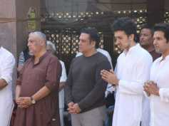 Govinda And Family Pay Last Respects To His Nephew Janmendra Ahuja At His Funeral