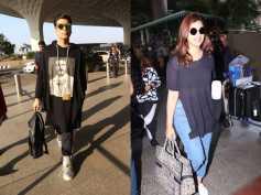 See Pics! Karan Johar Sports A Sleek Airport Look; Parineeti Chopra Also Snapped At The Airport