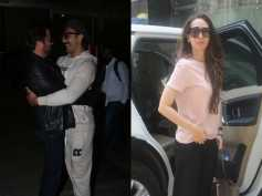 Ranveer Singh & Anil Kapoor Share A Warm Hug At The Airport; Karishma Kapoor Spotted In The City