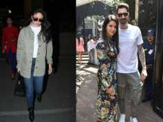 Kareena Kapoor Looks Glam At The Airport; Sunny Leone And Hubby Daniel Weber Pose For The Paps