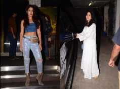Janhvi Kapoor Looks Ethereal In An All White Ensemble; Rhea Chakraborty Snapped In A Glittery Avatar