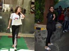 Parineeti Chopra Spotted After An Ad Shoot; Malaika Arora Steps Out Of Salon Looking Stylish