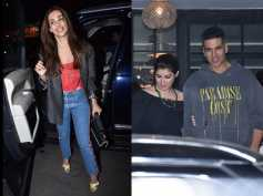 Malaika Arora Looks Trendy As She Heads Out; Twinkle Khanna & Akshay Kumar Snapped On A Dinner Date